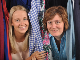 Clothing and craft sale