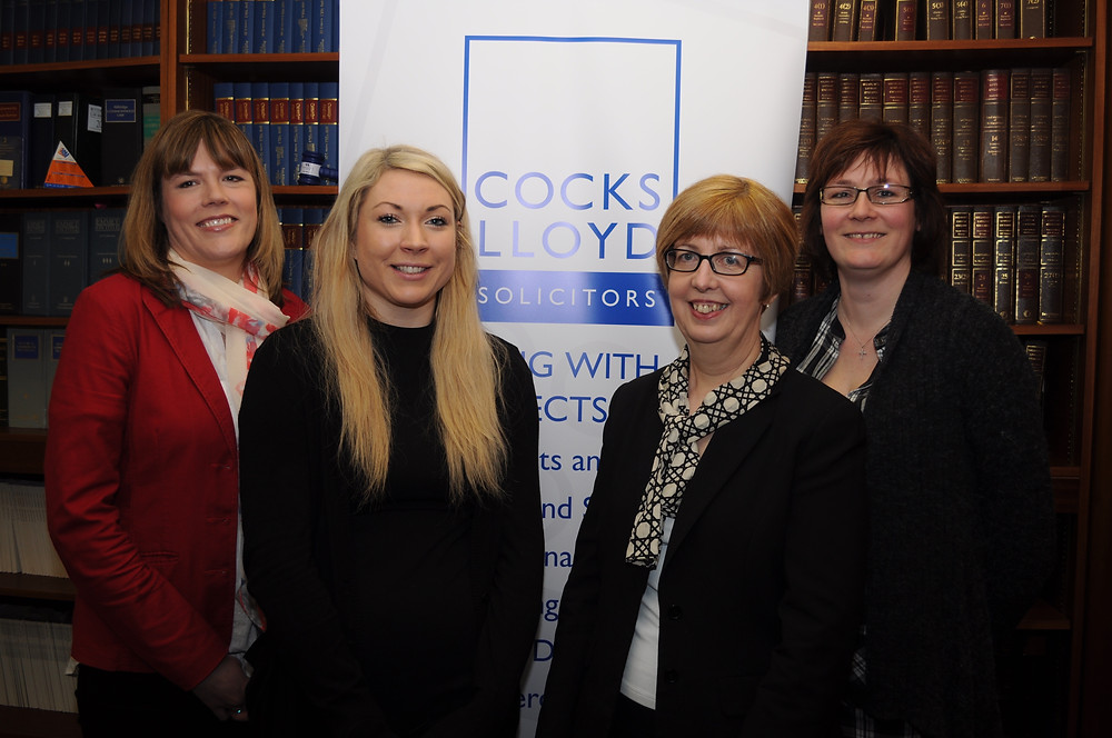 Acorn Centre Trustees with solicitors from Cocks Lloyd
