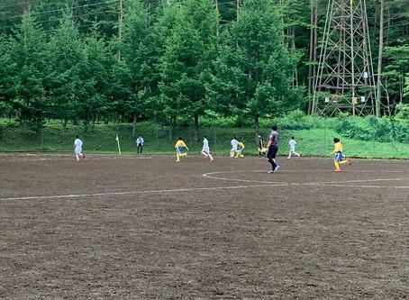 少年サッカーの応援に行きました。