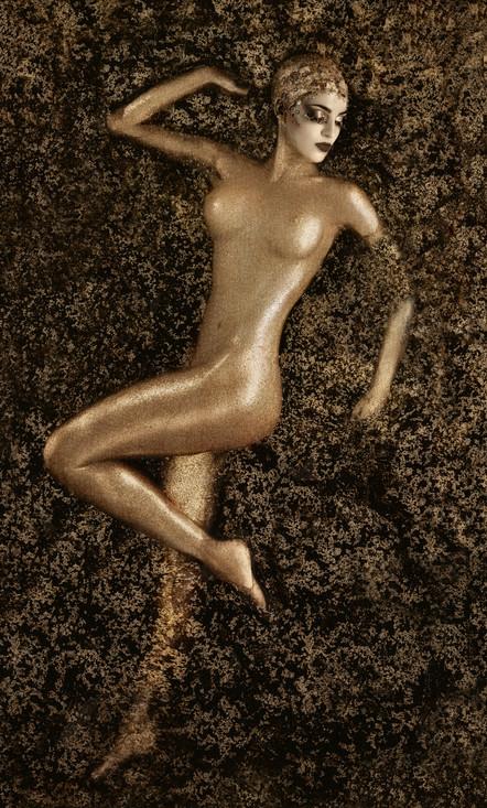 CRAQUELURE INTO GOLD...