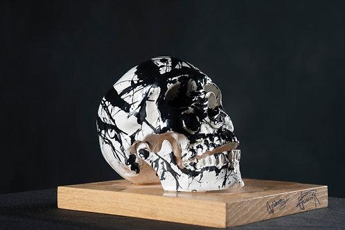 B&W Skull