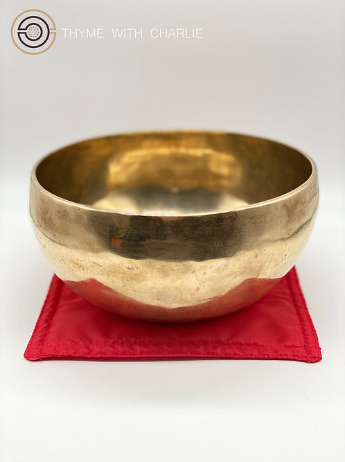 Handmade Singing Bowl - Muladhara, Root Chakra