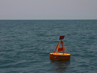 History is made as INOS deployed their first monitoring buoy