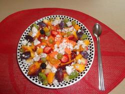 Petit déjeuner miam-ô-fruits