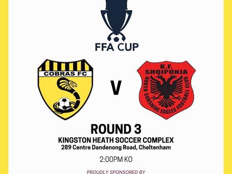 FFA CUP (Round 3) this Saturday (13/3)