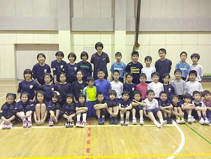 05.10 全日本選手来校!