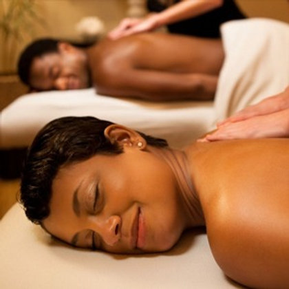 75 Min Couples Massage + Free Hot Stones - Gift Certificate