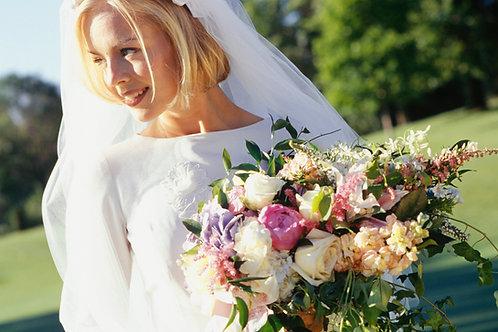 Garden Flower Bridal Bouquet