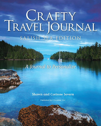 Crafty Travel Journal Salish Sea Cover