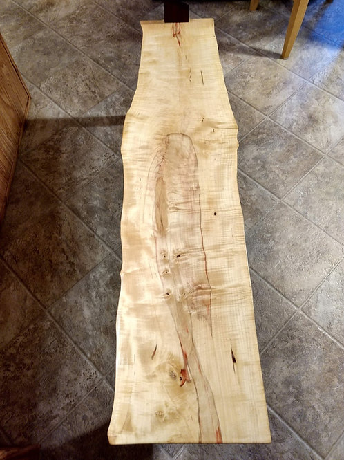 Curly Box Elder Bench/Table