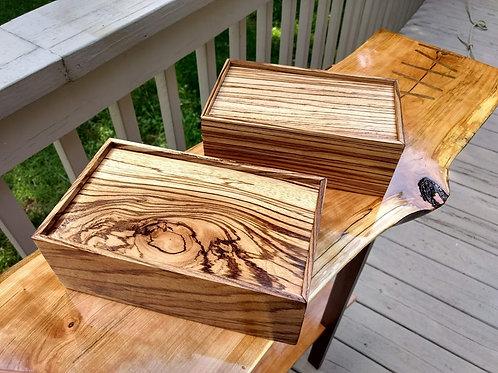 Zebrawood Box
