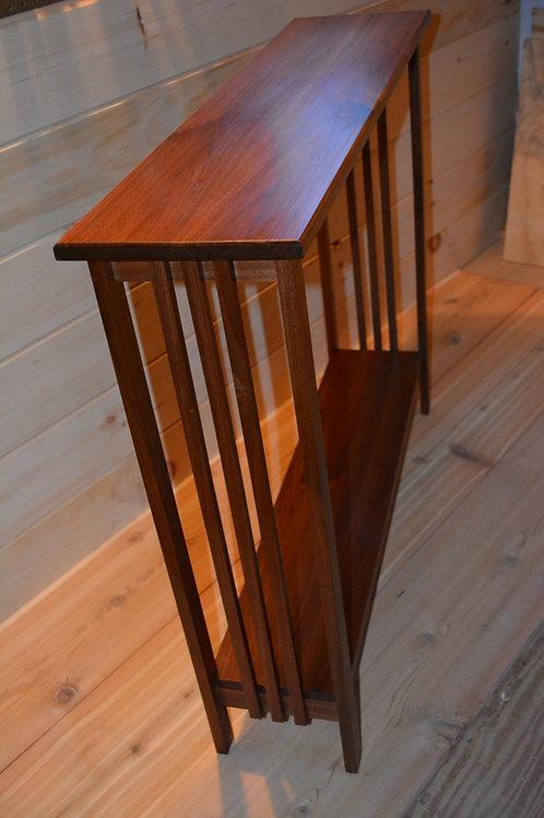 Mission Walnut Hall Table ($475)
