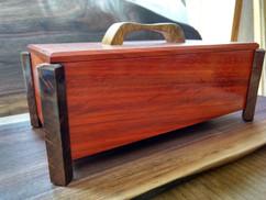 Paduk, Figured Black Walnut, Canarywood Box