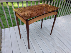 Curly Walnut Table