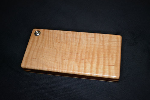 Tiger Maple and Black Walnut