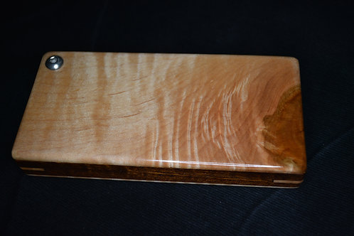 Tiger Maple & Black Walnut Fly Box #1