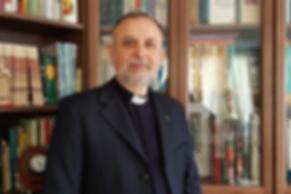 The Revd Nadim Nassar at home