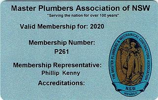 Master Plumbers Association Membership21