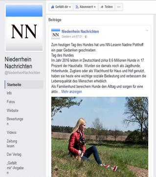 Niederrhein Nachrichten auf Facebook
