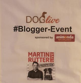 """DOGLIVE-Blogger-Event & Martin Rütter """"Freispruch"""" Show, Münster"""
