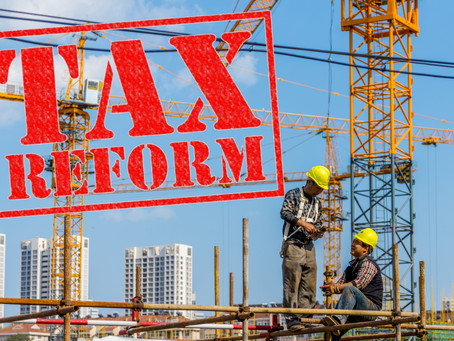 Tax Reform's Positive Impact on the Construction Industry