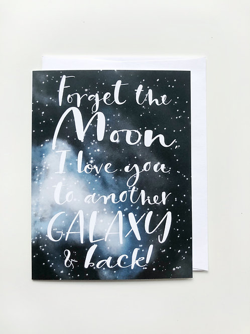 galaxy love card