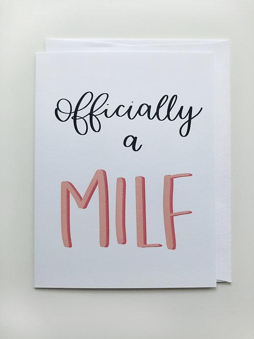 milf card