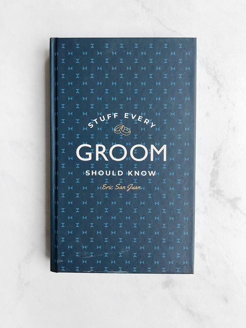 stuff every groom should know book