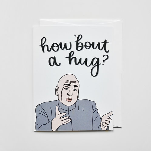 dr. evil hug card