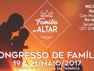 Congresso da Família, na PIBI