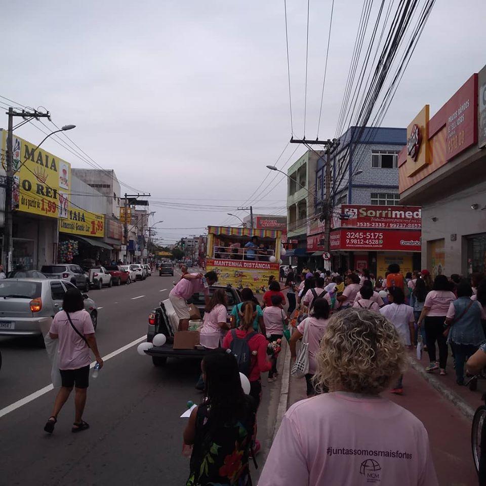 Caminhada das mulheres MCM