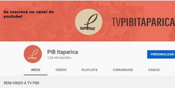 PIB ITAPARICA NO YOUTUBE