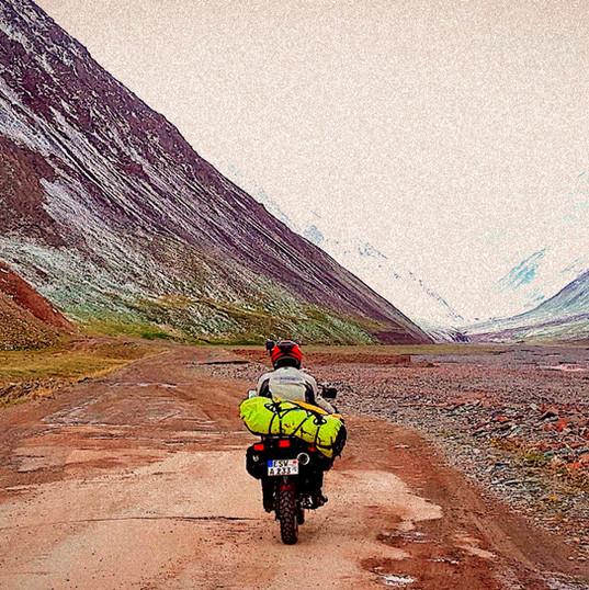 Mit dem Motorrad um die Welt