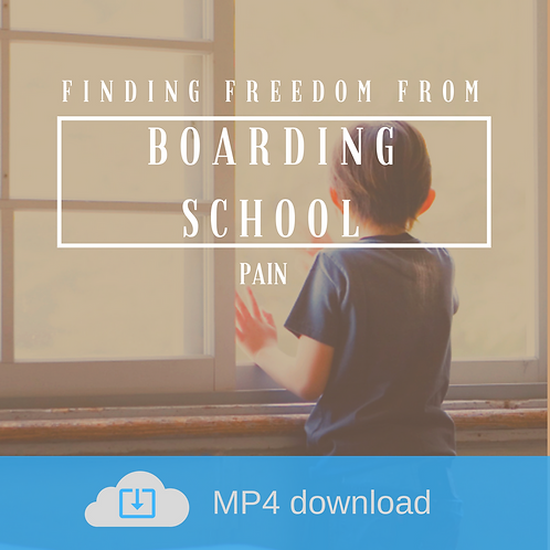 Finding Freedom from Boarding School Pain