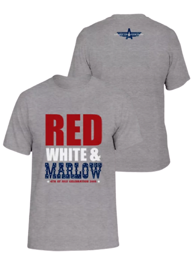 RED WHITE & MARLOW T-SHIRT