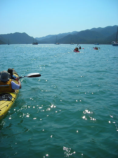 Kayaking in the Mediterranean Sea / Kekova Sea Kayaking Tour