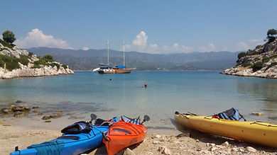 Tersane Bay / Kekova Island /Kekova Sea Kayaking Tour
