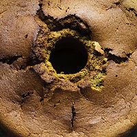 Maccha cake - photograph by Pak Keung Wan