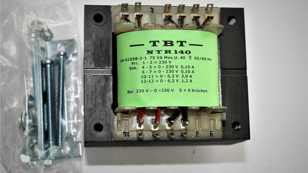Netztrafo für  Röhrengleichrichtung EZ 81o.ä. NTR 140