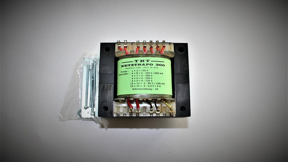 Netztrafo 300 1x 330 -300-250-220 V 0,3A 6,3V 5A