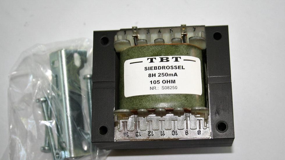 Sieb oder Netzdrossel 8 H 250 mA