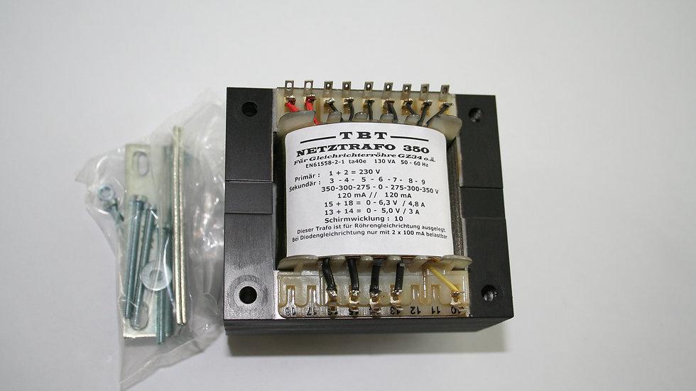 Netztrafo NTR 350 FürGleichrichtetröhre GZ34