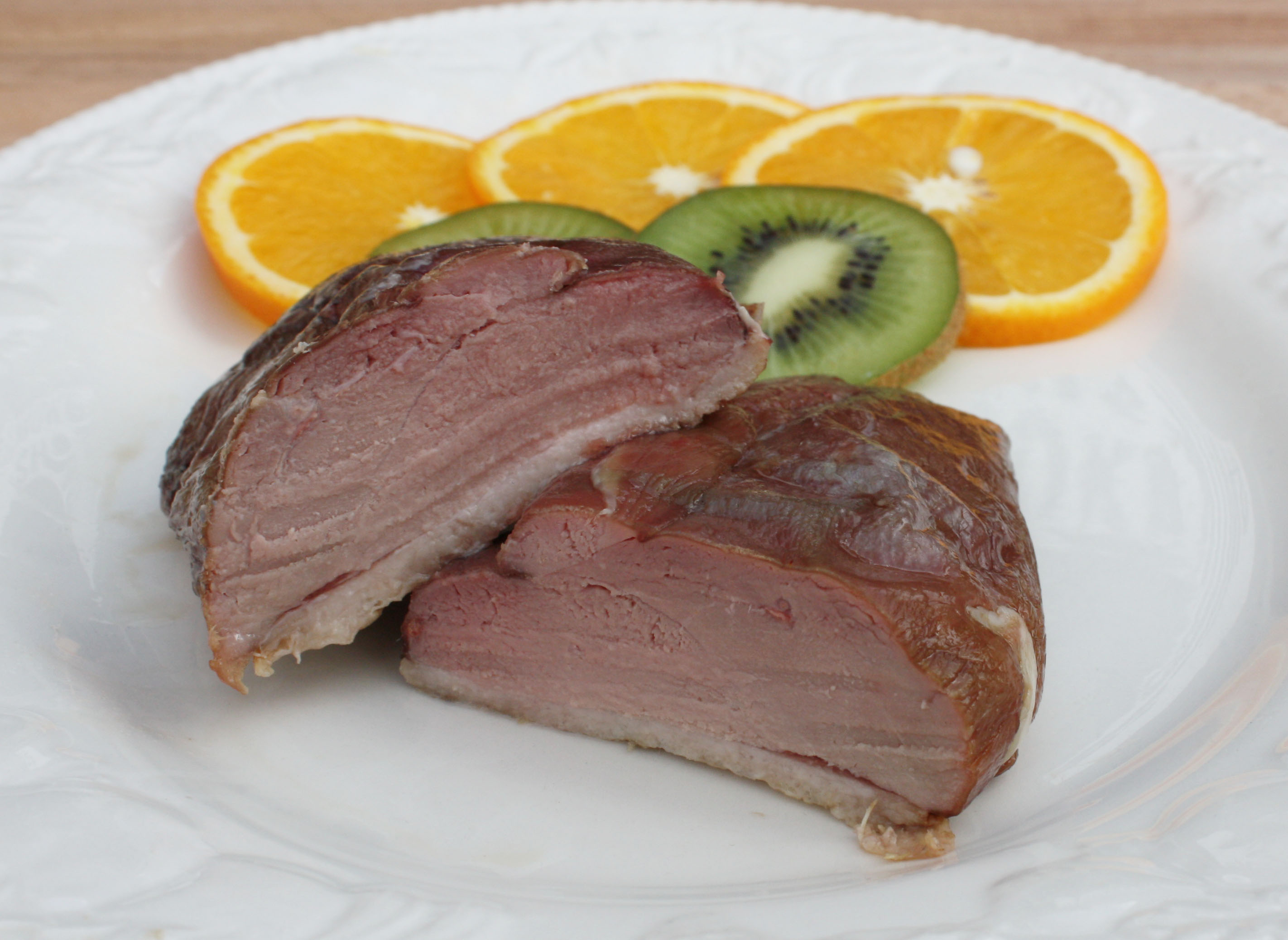 Oak Smoked Duck Breast