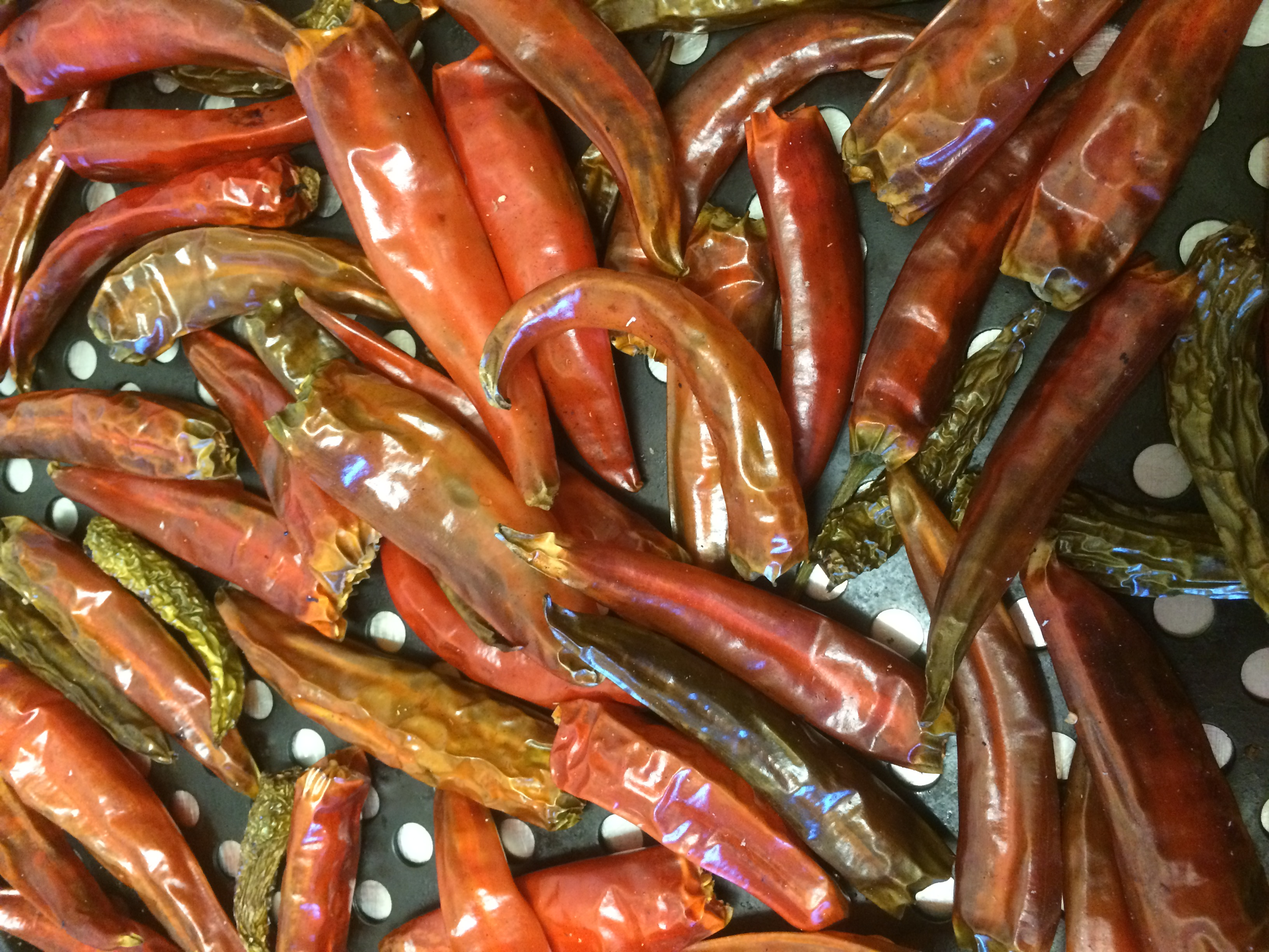 Smoked Chillies