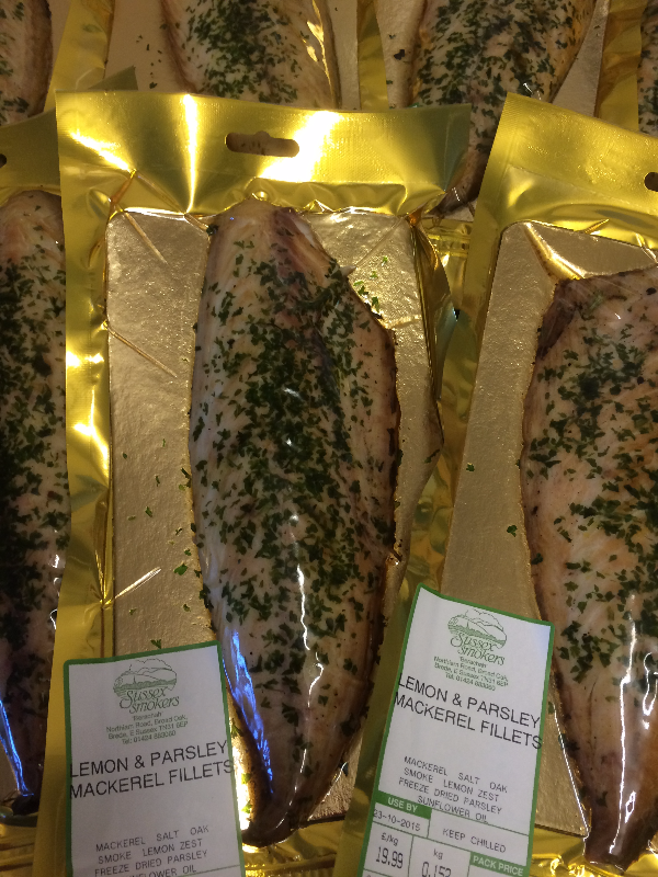 Lemon and Parsley Mackerel Fillets