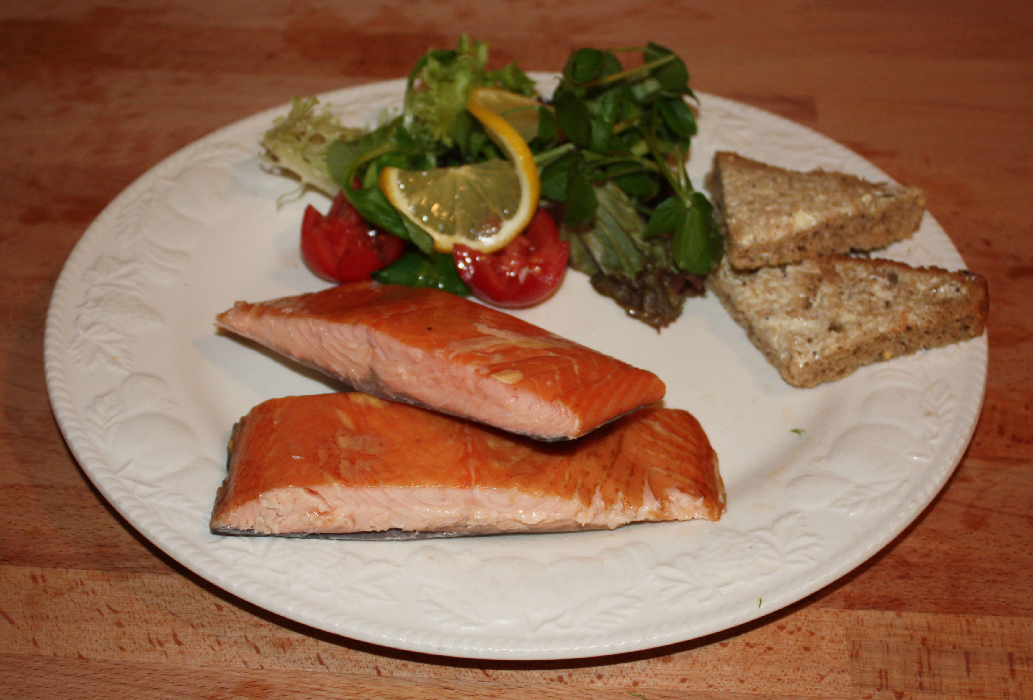 Oak Roasted Scottish Salmon Fillet