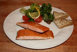 Oak Roasted Scottish Salmon Fillet