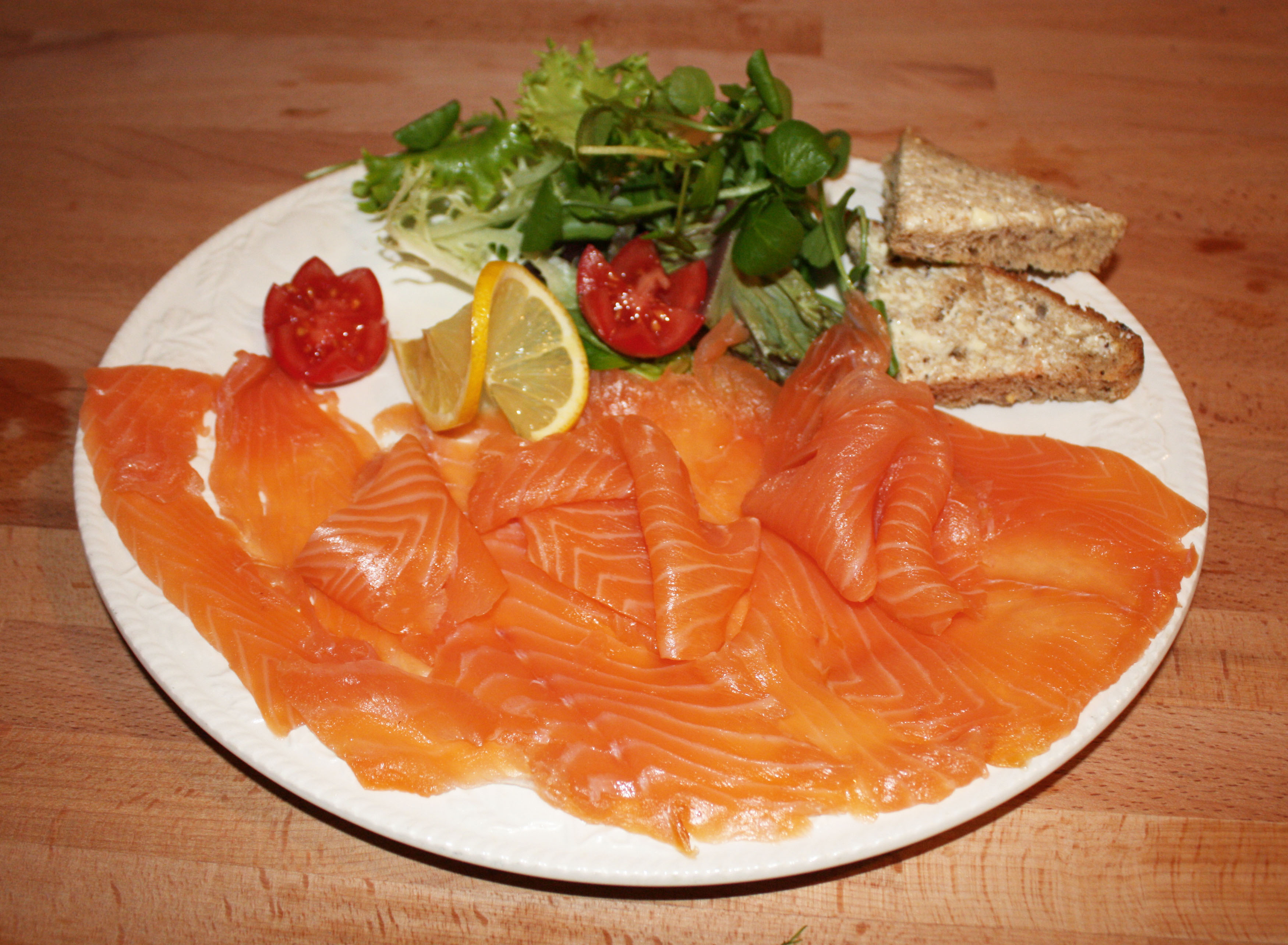 Oak Smoked Scottish Salmon