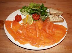 Oak Smoked Scottish Salmon
