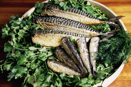 OAk Smoked Mackerel and Sardines